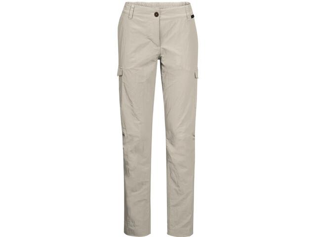 Jack Wolfskin Lakeside Spodnie Kobiety, dusty grey